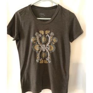 Fossil vintage embroidered T-shirt size medium